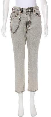 Marc Jacobs High-Rise Straight-Leg Jeans