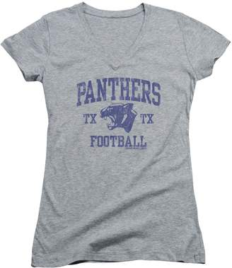 Friday Night Lights TV Series Panther Arch Juniors V-Neck T-Shirt Tee