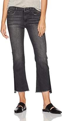 Madison Denim Women's Bleeker Crop Flare Jean with Shadow