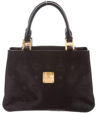 MCM Visetos Handle Bag