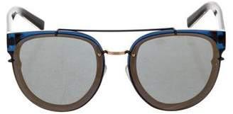 5fe7b8c3544b0 Christian Dior Pantos Framed Mirrored Sunglasses w  Tags