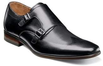 Florsheim Postino Textured Double Strap Monk Shoe