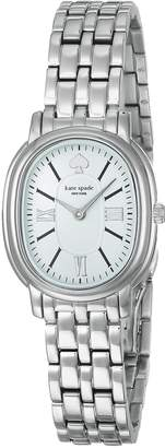 Kate Spade Women's 'Staten' Quartz Stainless Steel Casual Watch, Color -Toned (Model: KSW1431)