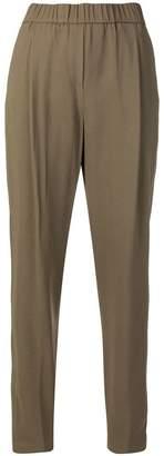 Fabiana Filippi crepe cady-stretch trousers