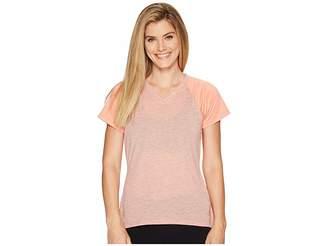 The North Face Reactor V-Neck Short Sleeve Shirt Women's T Shirt