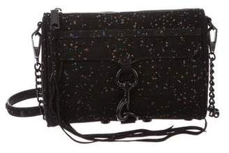 Rebecca Minkoff Splatter Suede Mini M.A.C. Crossbody Bag w/ Tags