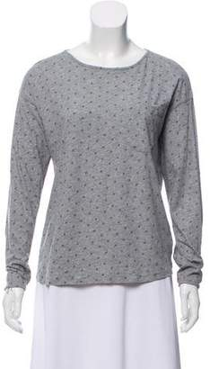 Chinti and Parker Long Sleeve Printed Top