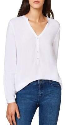 Esprit Essential Long-Sleeve Henley