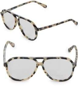 Stella McCartney 55MM Aviator Optical Glasses