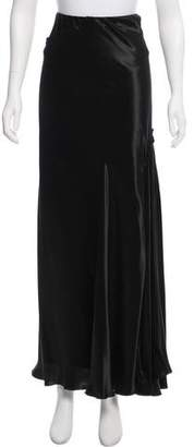 Lanvin Asymmetrical Maxi Skirt