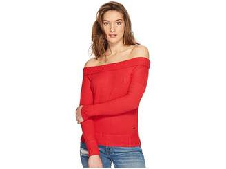 Lucky Brand Waffle Thermal Top Women's Long Sleeve Pullover