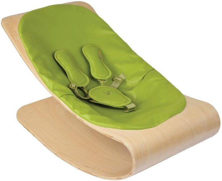 Bloom Coco Lounger - Natural Stylewood - Henna Brown Seat Pad