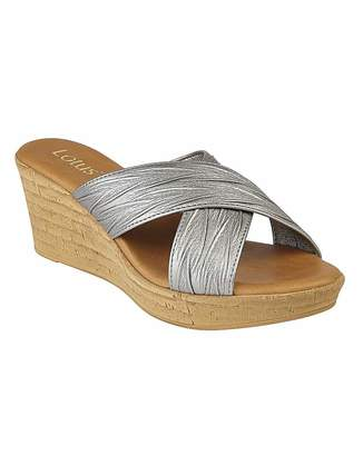 Lotus Latimer Wedge Sandals