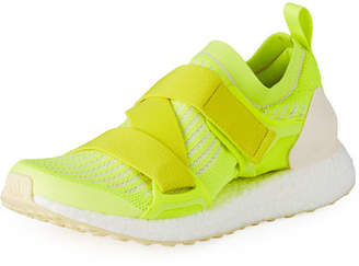 adidas by Stella McCartney Ultraboost X Fabric Sneakers, Bright Yellow
