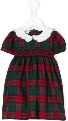 Siola tartan flared dress