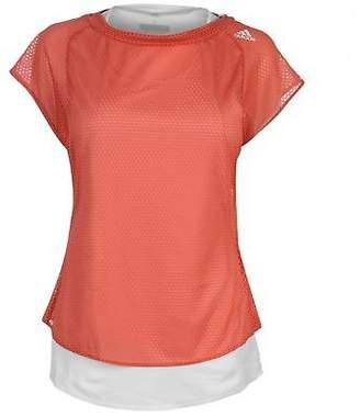 adidas Womens TKO Short Sleeved T Shirt Sleeve Performance Tee Top Crew Neck