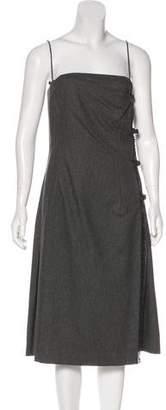 Ralph Lauren Black Label Wool Midi Dress