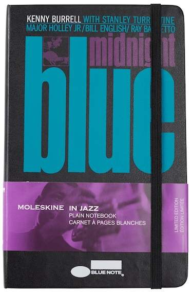 Limited Edition Bluenote Plain Notebook