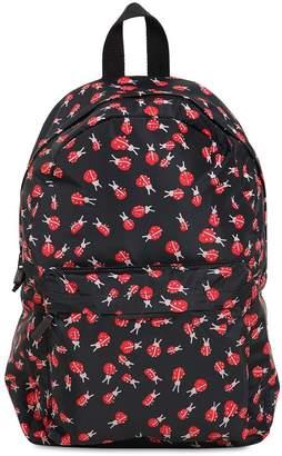 Stella McCartney Ladybugs Printed Nylon Backpack