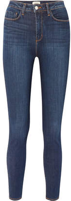 L'Agence Katrina High-rise Skinny Jeans - Mid denim