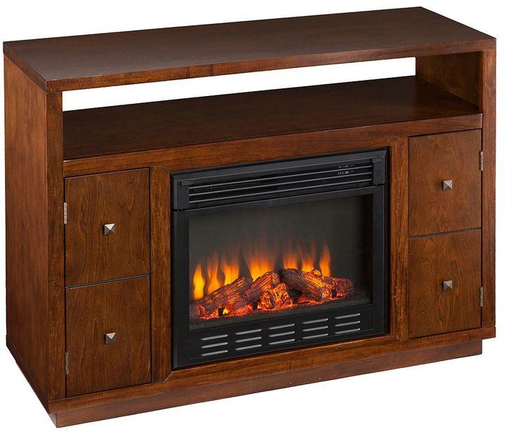 Southern enterprises Jones Media Console Electric Fireplace