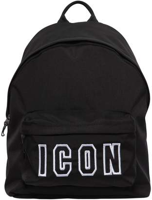 DSQUARED2 Icon Frame Nylon Backpack