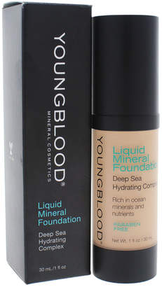 Young Blood Youngblood 1Oz Pebble Liquid Mineral Foundation