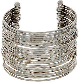 Linea by Louis Dell'Olio Faceted Metal MultiRow Cuff