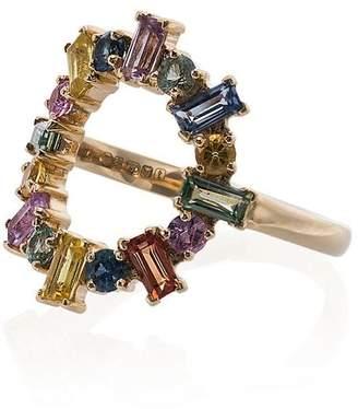 Ileana Makri Rainbow Stones Ring