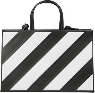 Off-White Off White Diagonal Boxy Tote