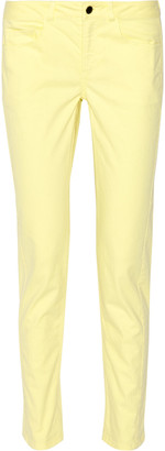 Derek Lam 10 Crosby Mid-rise skinny jeans $230 thestylecure.com