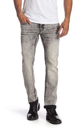 True Religion Skinny Flap Pocket Clean Jeans