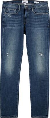 Frame L'Homme Blue Skinny Jeans
