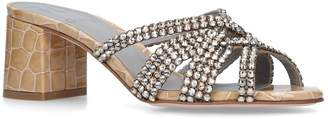 Gina Embellished Dexie Mules 50