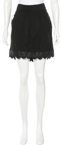 Chloé Chloé Silk Mini Skirt w/ Tags