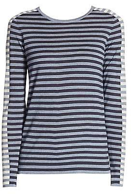 Akris Punto Women's Striped Knit Top