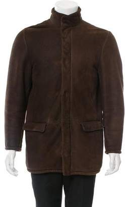 Loro Piana Shearling Leather Jacket