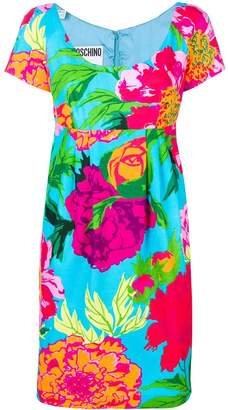 Moschino Pre-Owned floral empire line dress