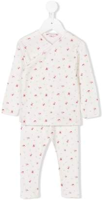 Bonpoint flower print pyjama set