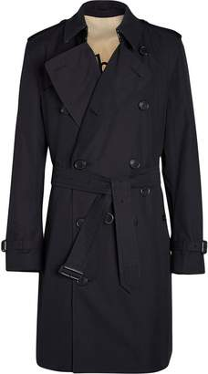 Burberry Archive Logo-lined Cotton Gabardine Trench Coat