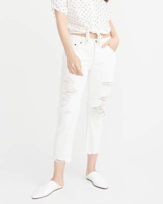Abercrombie & Fitch Low-Rise Boyfriend Jeans