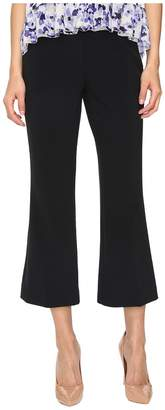 Kate Spade Crepe Cropped Flare Pants Women's Casual Pants