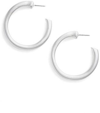 Women's Simon Sebbag Small Hoop Earrings $118 thestylecure.com