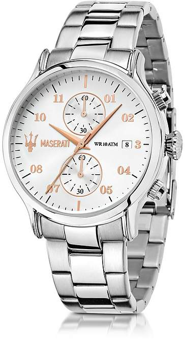 Epoca Maserati Chronograph Stainless Steel Men's Watch