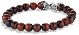 David Yurman Spiritual Beads Red Tiger's Eye Bracelet