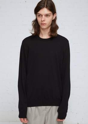 Maison Margiela Cutout Elbow Patch Crew