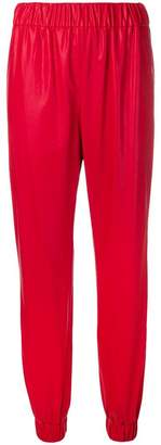 MSGM metallic trousers