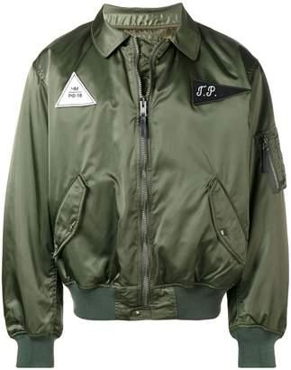Gosha Rubchinskiy logo patch bomber jacket