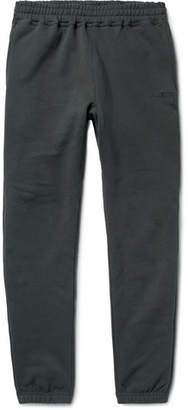 Stussy Tapered Fleece-Back Cotton-Jersey Sweatpants