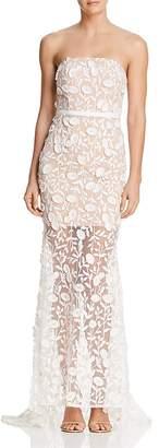 Jarlo Henna Strapless Illusion Gown - 100% Exclusive